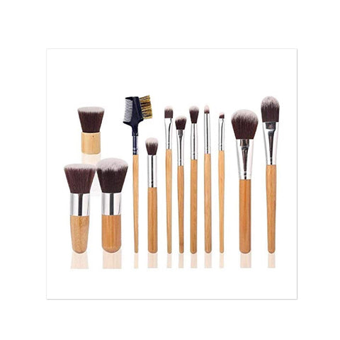 Makeup Brush Set - 12 Pcs