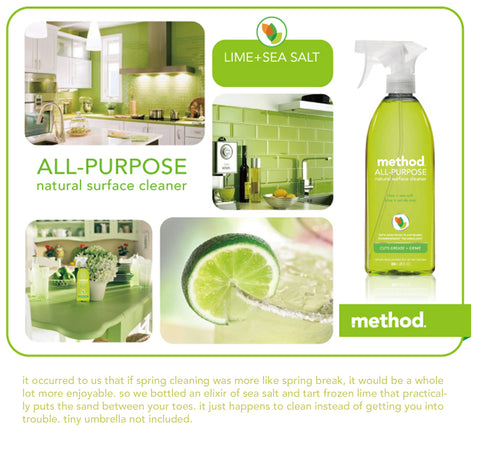 lime+sea salt method all purpose cleaner