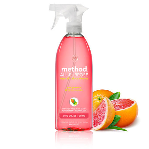 all purpose cleaner , plant-based formula. available in method home Malaysia