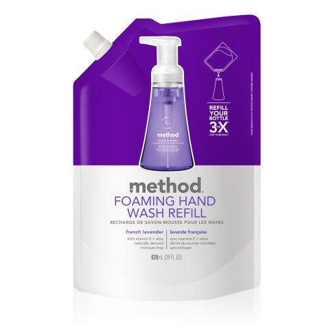 Foaming Hand Wash Refill - French Lavender 828ml