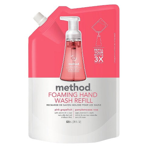Foaming Hand Wash Refill - Pink Grapefruit 828ml