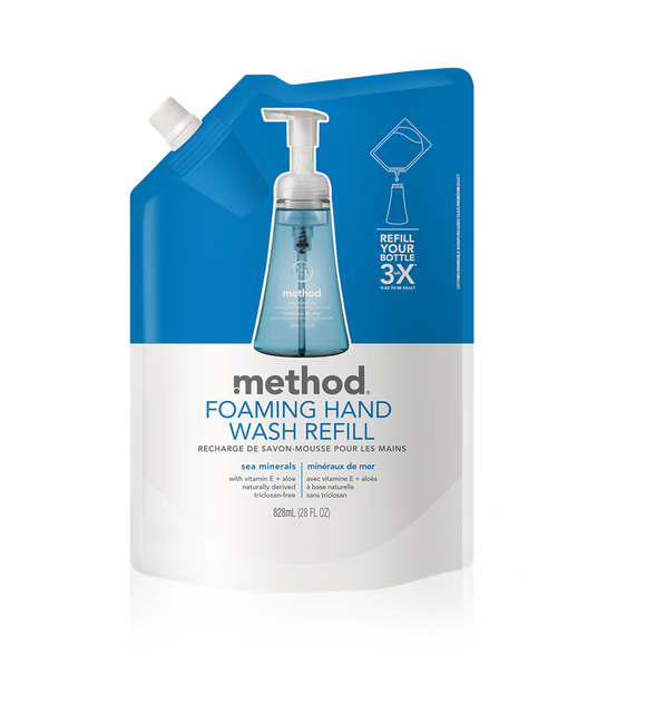 Foaming Hand Wash Refill - Sea Mineral 828ml