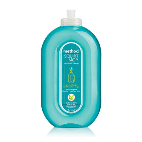 method floor cleaner spearmint blue