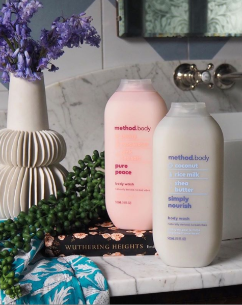 method unisex body wash - simply nourish