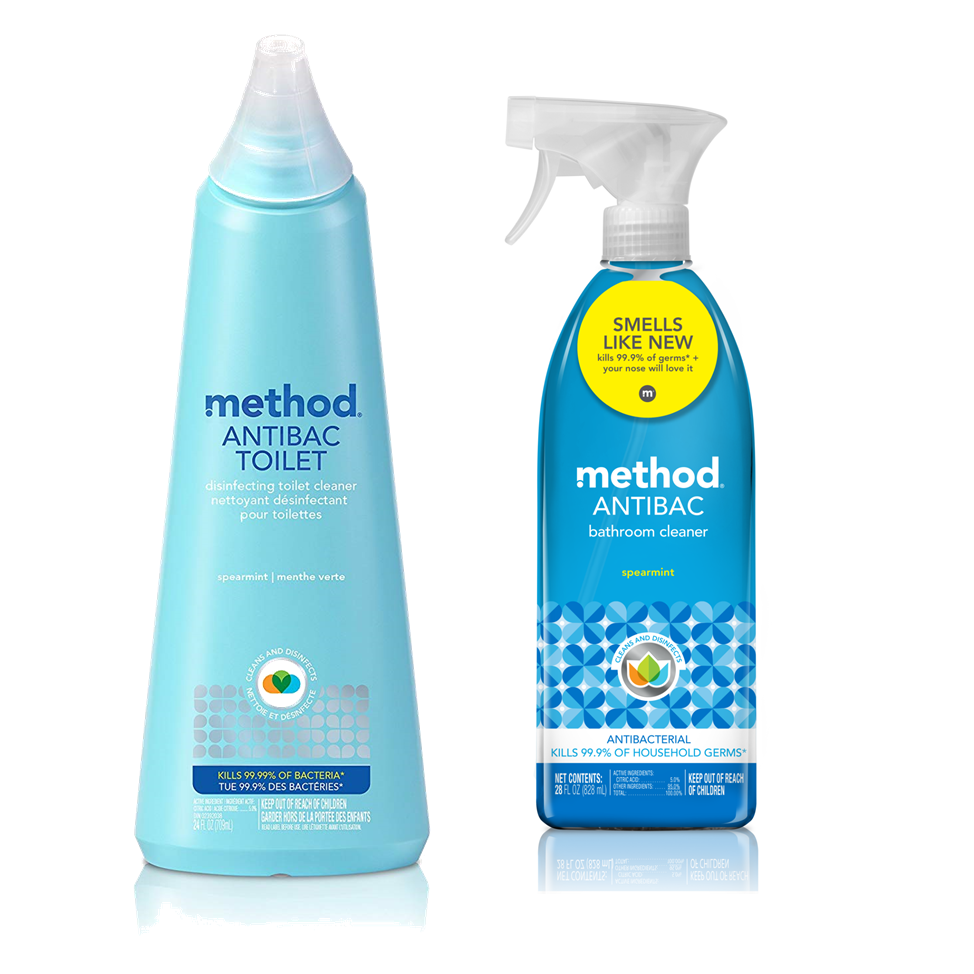 [Bundle] Bathroom Cleaner Antibac Toilet Bowl Cleaner 709ml + Antibacterial Bathroom Cleaner Spray 828ml
