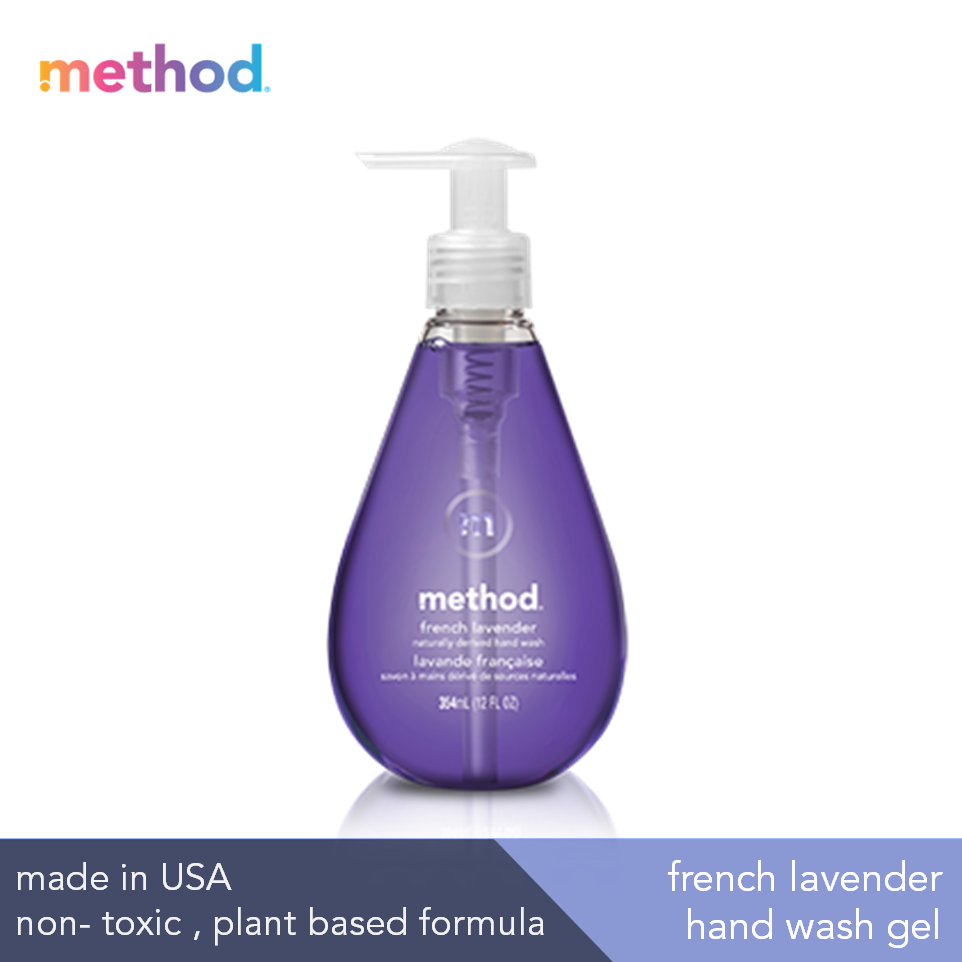 [bundle] Gel Hand Wash Refill French Lavender 1000ml + Gel Hand Wash French Lavender 354ml