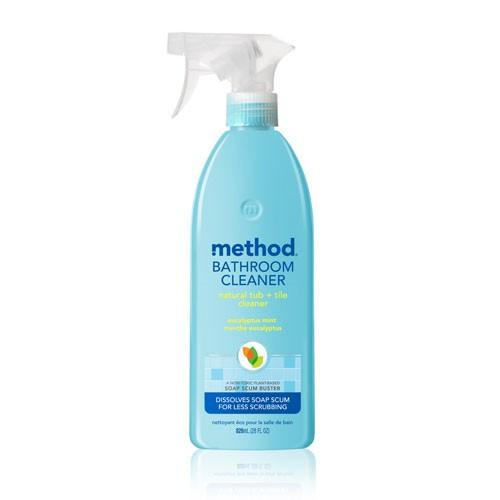 method bathroom tub & tile cleaner