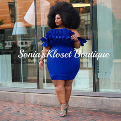 STATEMENT BLUE-PLUS SIZE