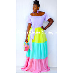 COLOR-POP DRESS