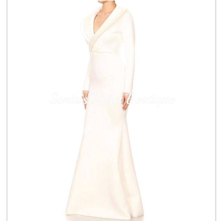 WINTER WHITE GOWN