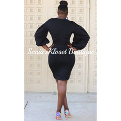 JAS SWEATER DRESS
