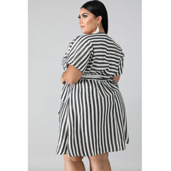 BRIGHT STRIPE DRESS