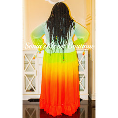 TASTE THE RAINBOW DRESS