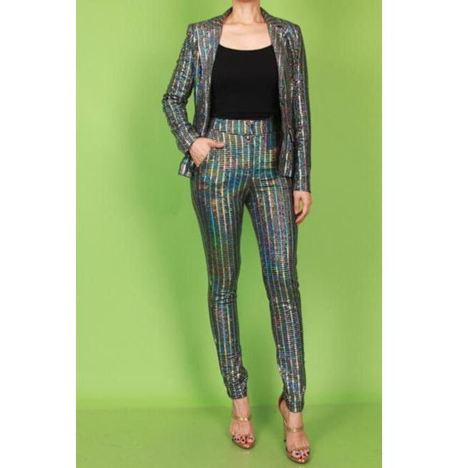 SEQUINS-BOSS SUIT
