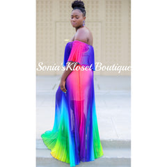 REIGNBOW MAXI DRESS