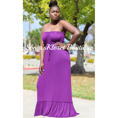 MOCCA MAXI DRESS