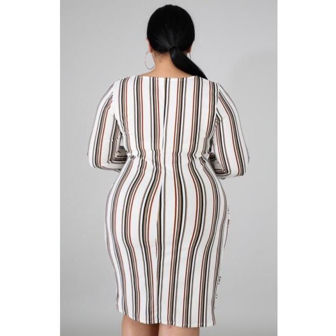 AMALY DRESS(PLUS SIZE)