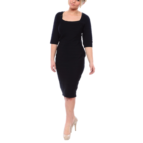 Sexy Plus Size Bandage Dress In Black Or Red Msbluesleeve