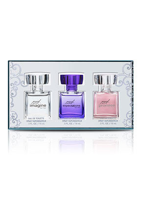 Personal Accents Women's Three-Piece Mini Eau de Parfum Sprays - MsBlueSleeve