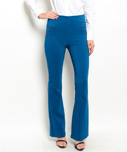 Womens Formal Blue Pants