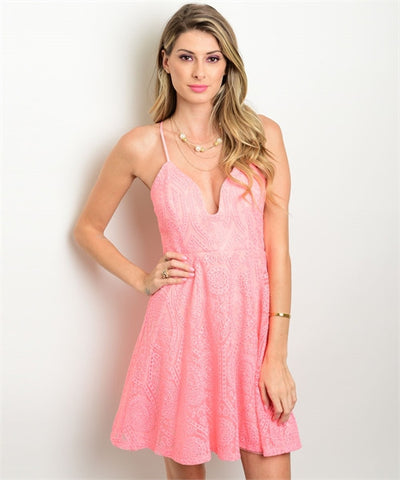Elegant Blush Dress - MsBlueSleeve - 1