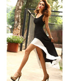 Womens Halter Maxi Dress - MsBlueSleeve - 1