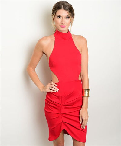 Allure Red Dress