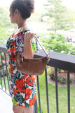Authentic Coach Small tote Purse Brown leather Adjustable bag (Gently Used)
