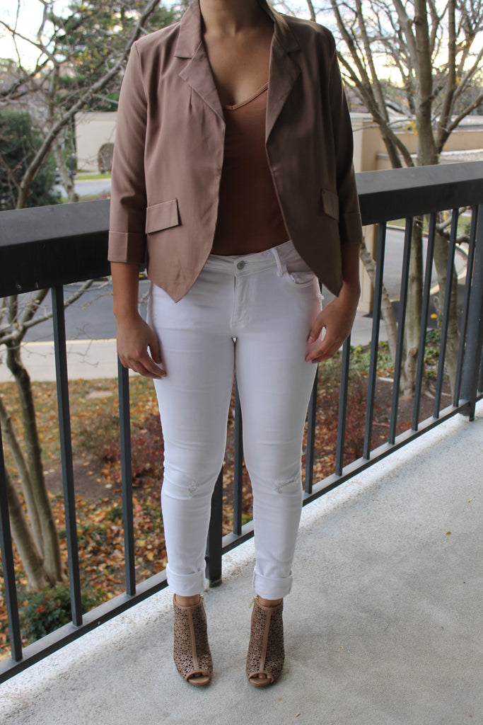 Chic Brown Blazer