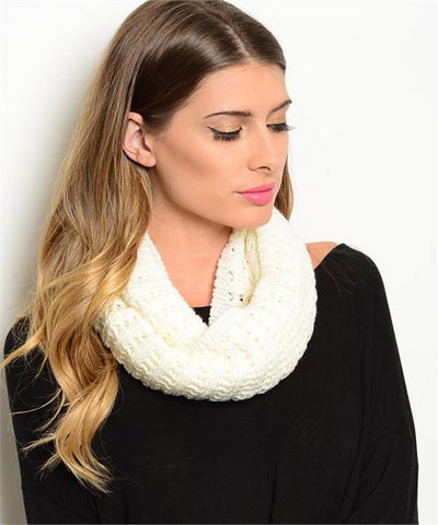 Ivory Winter Scarf