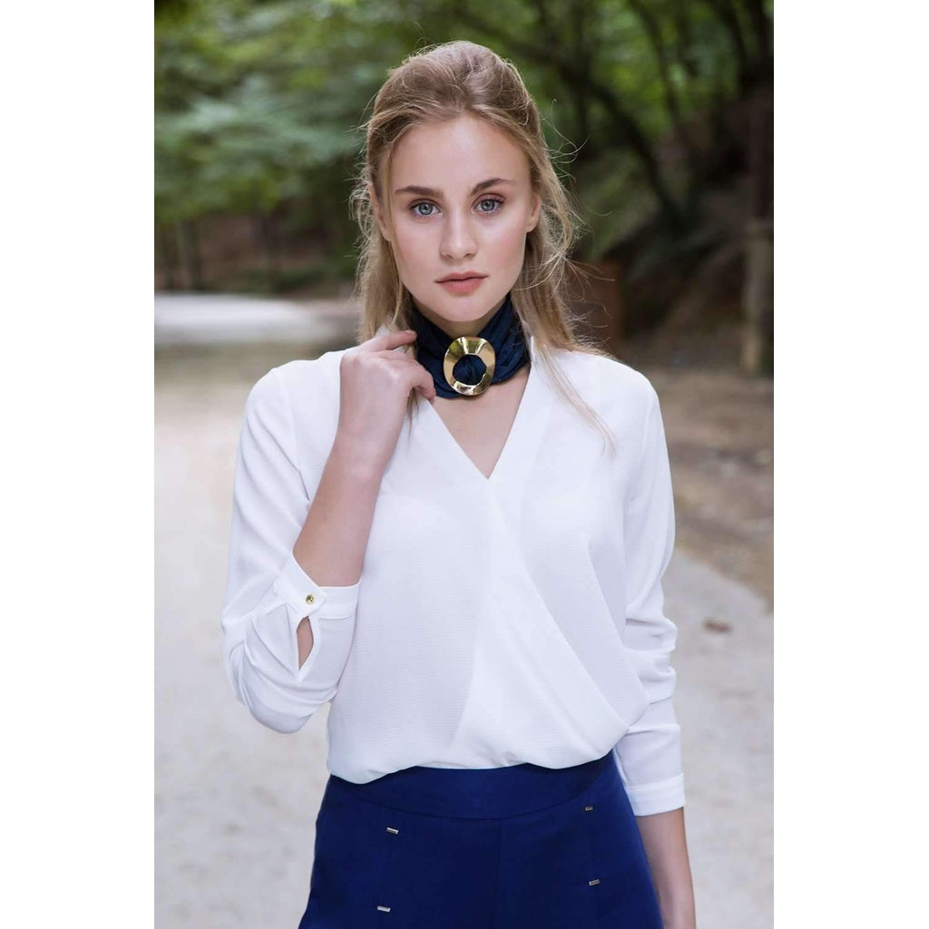 ALICE WHITE BLOUSE