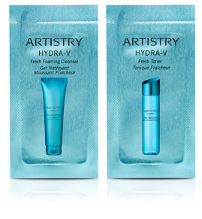 Artistry Hydra-V™ Fresh Foaming Cleanser & Fresh Toner Sample Packs