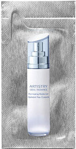 Artistry Ideal Radiance Illuminating Moisturizer Foil Samples - MsBlueSleeve