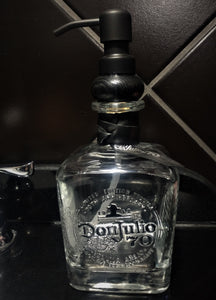 750ml Don Julio 70th Anniversary Soap or Lotion Dispenser