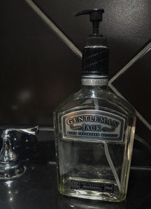 750ml Gentleman Jack Daniels Soap or Lotion Dispenser