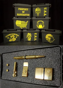 Personalized Ammo Boxes Groomsman Gift Military Designs
