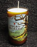 Angry Orchard Beer Cider Bottle Scented Soy Candle