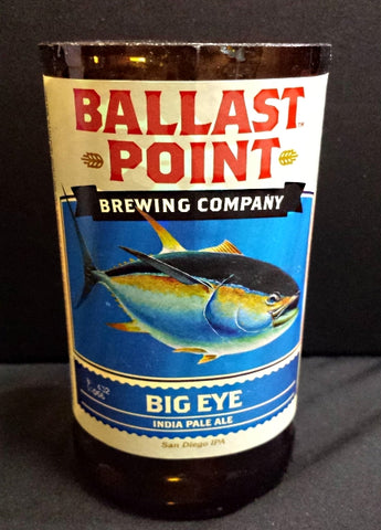 Ballast Point Brewery Big Eye ManCrafted Beer Bottle Scented Soy Candles for mancave