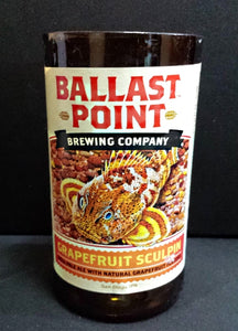 Ballast Point Brewery Grapefruit Sculpin ManCrafted Beer Bottle Scented Soy Candles for mancave
