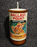 Ballast Point Brewery Sculpin IPA ManCrafted Beer Bottle Scented Soy Candles for mancave