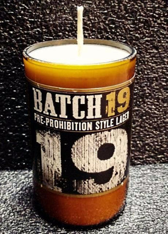 Batch 19 Prohibition ManCrafted Beer Bottle Scented Soy Candles for mancave