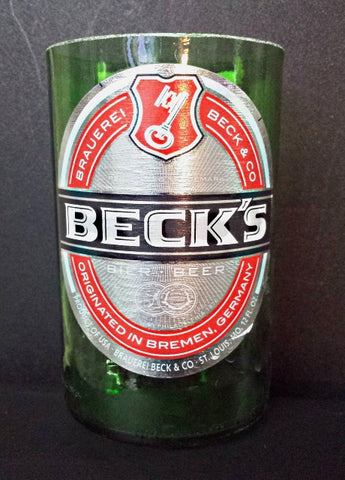 Becks German Bier ManCrafted Beer Bottle Scented Soy Candles for mancave
