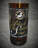Black Chocolate Stout Beer Bottle Scented Soy Candle