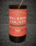 Bourbon County Coffee Stout Beer Bottle Scented Soy Candle