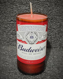 Budweiser Beer Bottle Scented Soy Candle