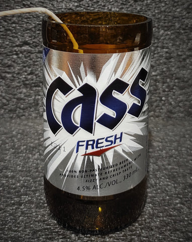 Cass Fresh Beer Bottle Scented Soy Candle