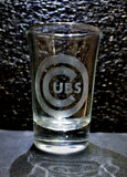 1.5oz Chicago Sports Shot Glasses