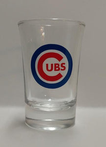 Chicago Cubs World Series Logo Shot Glass 2016