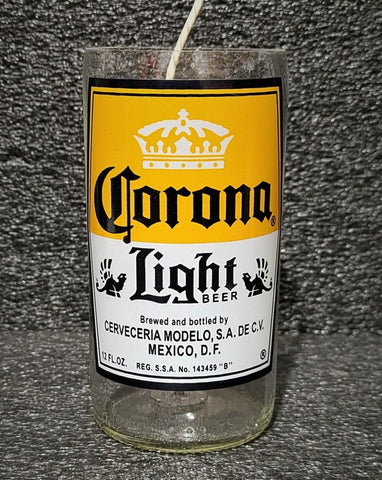 Corona Light Scented Beer Candle