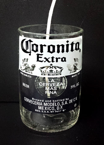 Corona Coronita Cerveza ManCrafted Beer Bottle Scented Soy Candles for mancave